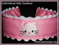 EMBROIDERED HEADBANDS