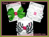 PERSONALIZED CLASSIC HAIR BOWS